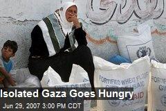 Isolated Gaza Goes Hungry