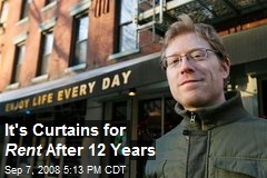 It's Curtains for Rent After 12 Years