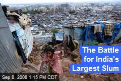 The Battle for India's Largest Slum