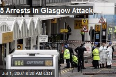 5 Arrests in Glasgow Attack