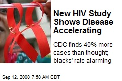 New HIV Study Shows Disease Accelerating