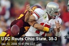 USC Routs Ohio State, 35-3