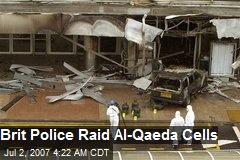 Brit Police Raid Al-Qaeda Cells