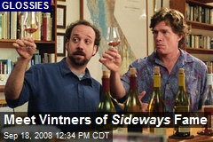 Meet Vintners of Sideways Fame