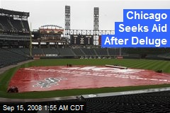 Chicago Seeks Aid After Deluge