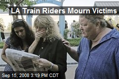 LA Train Riders Mourn Victims