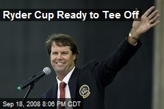 Ryder Cup Ready to Tee Off