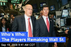 Who's Who: The Players Remaking Wall St.