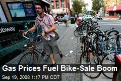 Gas Prices Fuel Bike-Sale Boom