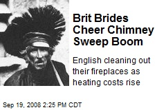 Brit Brides Cheer Chimney Sweep Boom