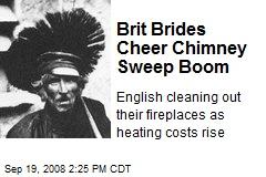 Brit Brides Cheer Chimney Sweep Boom