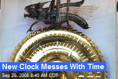 New Clock Messes With Time