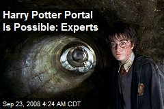 Harry Potter Portal Is Possible: Experts