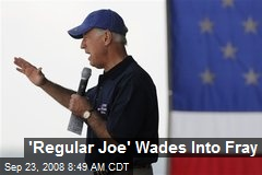 'Regular Joe' Wades Into Fray
