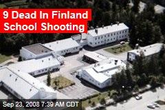 9 Dead In Finland School Shooting