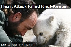 Heart Attack Killed Knut-Keeper
