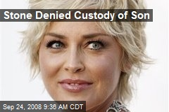 Stone Denied Custody of Son