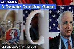 A Debate Drinking Game
