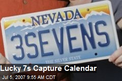 Lucky 7s Capture Calendar