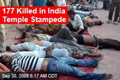 177 Killed in India Temple Stampede