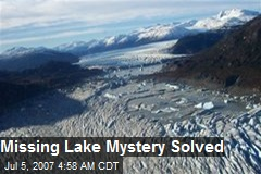 Missing Lake Mystery Solved