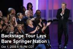 Backstage Tour Lays Bare Springer Nation