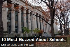 10 Most-Buzzed-About Schools