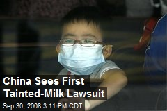 China Sees First Tainted-Milk Lawsuit