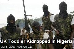 UK Toddler Kidnapped in Nigeria