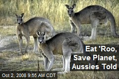 Eat 'Roo, Save Planet, Aussies Told