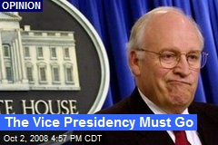 The Vice Presidency Must Go