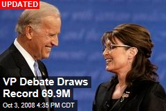 VP Debate Draws Record 69.9M