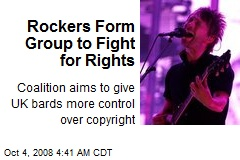 Rockers Form Group to Fight for Rights