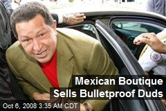 Mexican Boutique Sells Bulletproof Duds