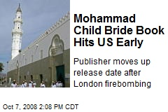 Mohammad Child Bride Book Hits US Early