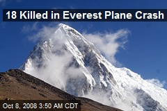 18 Killed in Everest Plane Crash