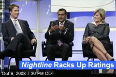 Nightline Racks Up Ratings