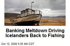 Banking Meltdown Driving Icelanders Back to Fishing