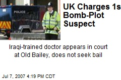 UK Charges 1st Bomb-Plot Suspect