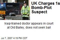 UK Charges 1st Bomb-Plot Suspect
