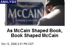 As McCain Shaped Book, Book Shaped McCain