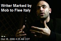 Writer Marked by Mob to Flee Italy