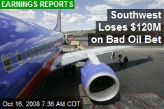 Southwest Loses $120M on Bad Oil Bet