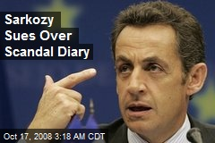 Sarkozy Sues Over Scandal Diary