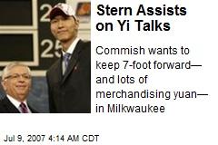Stern Assists on Yi Talks