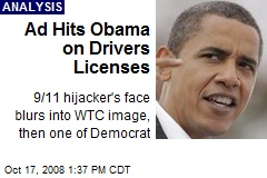 Ad Hits Obama on Drivers Licenses