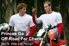 Princes Go Off-Road For Charity