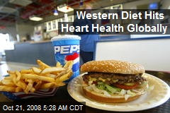 Western Diet Hits Heart Health Globally