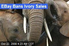 EBay Bans Ivory Sales