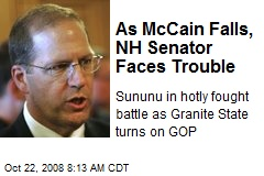 As McCain Falls, NH Senator Faces Trouble